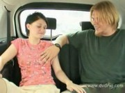 Cute Eighteen Year Old Gets A Free Ride And Fucks The Driver